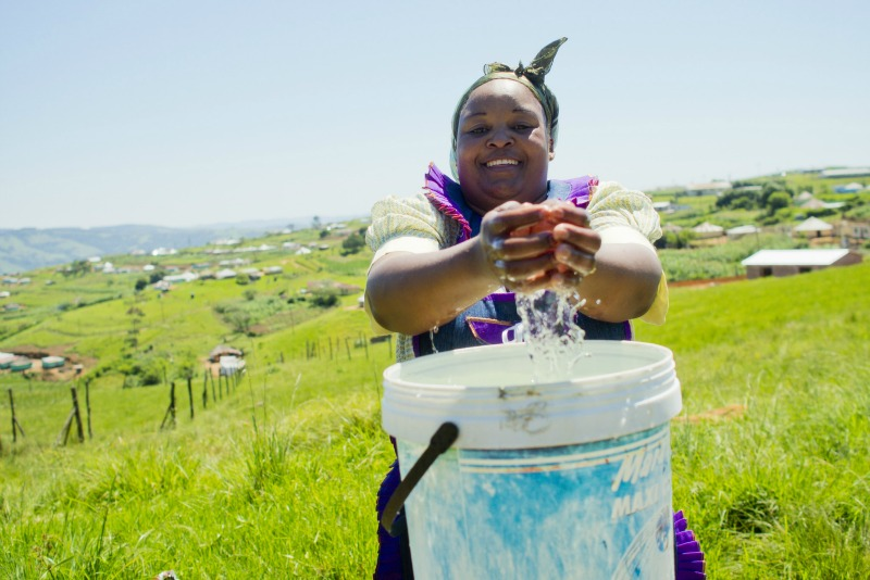 $360 can train 30 people in water, sanitation and hygiene, to reduce the spread of diseases caused by dirty water