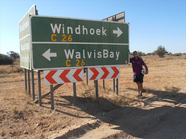 From Walvis Bay to Windhoek