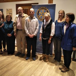 Swakopmund - meeting with Rotary