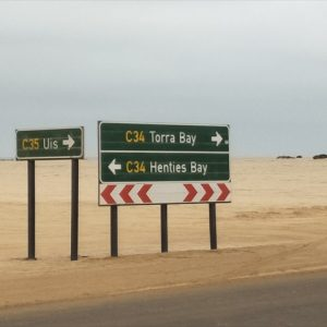 Day 24 - Reaching the junction where I leave the Skeleton Coast