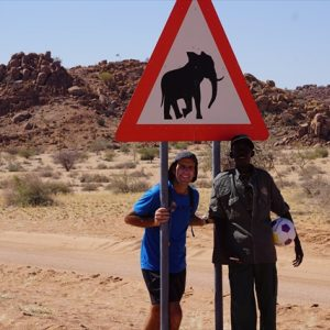 Day 28 - Several elephant zones in this area calls for extra caution