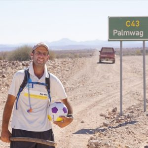 Day 32 - Reached the turnoff to Palmwag, one of my key milestones