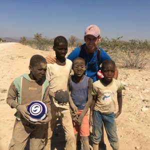 Day 38 - Love giving out soccer balls and seeing smiles on these faces