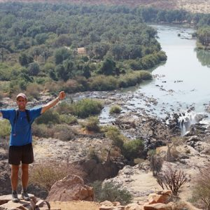 Day 41 - The end is in sight, the mighty Kunene River and border with Angola