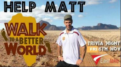 Photo to launch the Walk to a Better World Campaign in Canberra, Australi